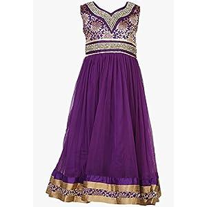 Lavender Party Wear Gown