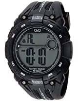 Q&Q Digital Grey Dial Men's Watch - M121J003Y