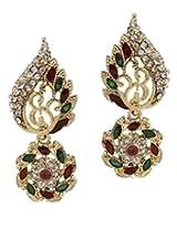 Ethnic Indian Artisan Jewelry Set Pretty Dangler EarringsTIEA0010MG
