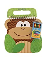 Stephen Joseph Shaped Sketch Pad-Monkey