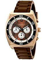 Caravelle New York  Sport Analog Brown Dial Men's Watch - 45a114