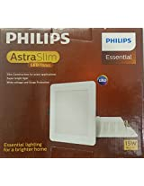 Philips AstraSlim 15 watts Square LED Panel Light (Warm White/Golden Yellow)