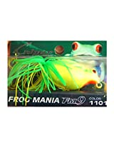 Sniper Frog Mania Fiber Hook Green yellow Bait