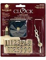 Walnut Hollow 3 Piece Clock Kit, 3/8-inch