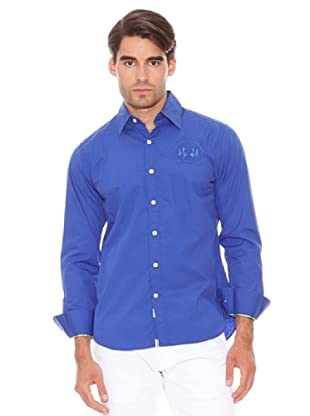 La Martina Camisa Logo (Azul)