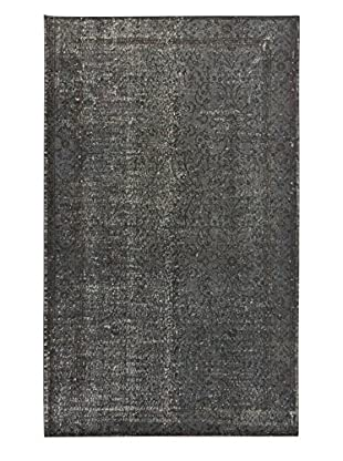 eCarpet Gallery One-of-a-Kind Hand-Knotted Color Transition Rug, Dark Grey, 5' 3