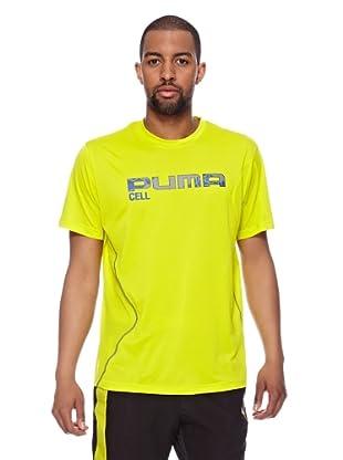 Puma Trainings T-Shirt CT Graphic Cell (sulphur spring)