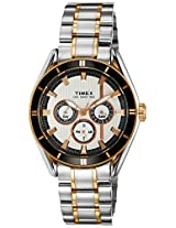 Timex E Class Analog Silver Dial Men's Watch - NO10