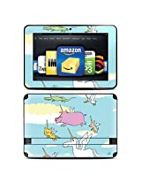 """Kindle Fire HD 8.9"""" Skin Kit/Decal - Fly (will not fit HDX models)"""