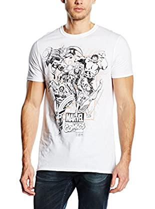 MARVEL Camiseta Manga Corta Band Of Heros