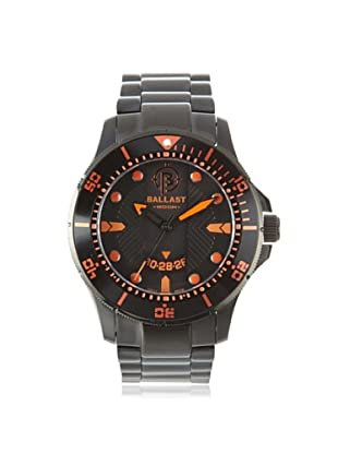 Ballast Men's BL-3114-66 Vanguard Black Stainless Steel Watch