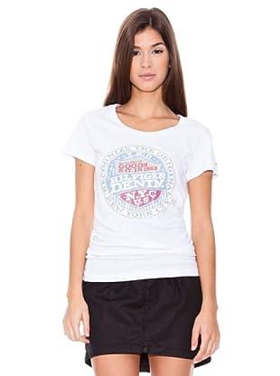 Hilfiger denim Camiseta Parry (Blanco)