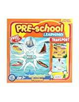 Puzzle - Pre-School Learning Transport