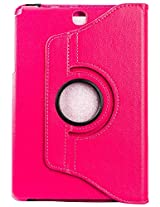 Purple Eyes Generic 360ø Rotator Leather Flip Cover for Samsung Galaxy Tab A 9.7 inch T550 T555 - Pink