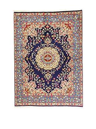 Eden Teppich   Kerman 146X202 mehrfarbig