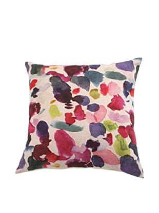 Filling Spaces Abstract Print Pillow, Multi