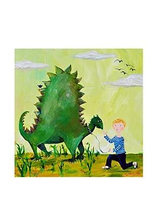 "Cici Art Factory Dino (Blonde), 16""x 16"""