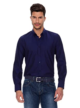 Caramelo Camisa Fiesta (Azul Tinta)
