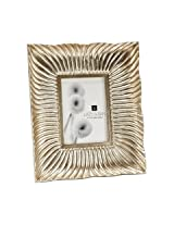 Silver Shell Wave Wall Frame - 8 x 10