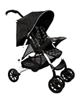 Graco Stroller Mirage Solo Black Zig Zag, Black, 0-3 Years
