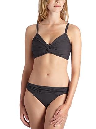 ESPRIT Bodywear Damen Bikini, Z3915/CAPISTRAN.BEACH (Grau (FJ))