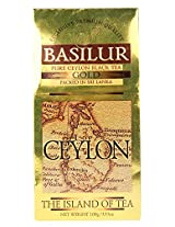 Basilur Island of Tea Loose Tea, Gold, 100g