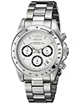 Invicta Speedway Analog White Dial Men's Watch - 9211
