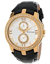 Titan Regalia Analog Multi-Color Dial Men's Watch - NC1535YL01