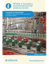 Envasado y acondicionamiento de productos lácteos. INAE0209