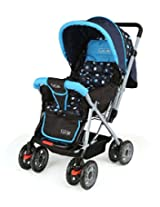 LuvLap Baby Stroller Pram Sunshine Sky Blue