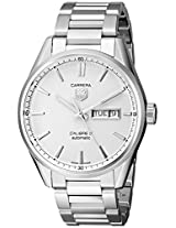 TAG Heuer Men's WAR201B.BA0723 Analog Display Swiss Automatic Silver Watch
