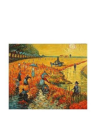 Arte dal Mondo  Wandbild Van Gogh Vigneti Rossi
