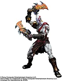 GOD OF WAR III PLAY ARTS�� KAI KRATOS �y�N���C�g�X�z
