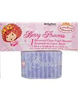 Strawberry Shortcake Berry Princess Decorated Crepe Paper Party Streamer