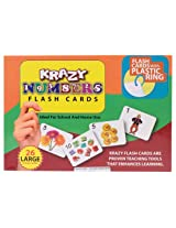 Krazy Numbers - Flash Cards With Rings