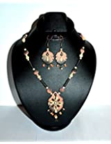 Rajwada Style Fine Bead Work Terracotta Necklaces