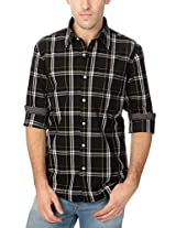 Allen Solly Checkered Cotton Comfort Fit Shirt