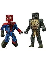 2012 Comic Con SDCC EX Marvel Minimates Amazing Spider-Man Movie Sewer 2 Pack