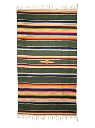 Uptown Down Previously Owned Southwest-Style Fringed Throw