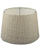 NRS Synthetic Round Lamp Shade (White, NRS56)