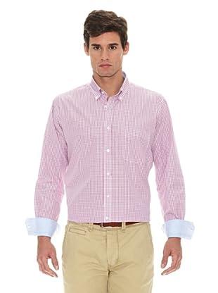 Turrau Camisa Cuadro Mini Bicolor (Rosa / Azul)