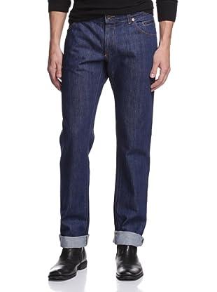 Dolce & Gabbana Men's Straight Leg Jean (Blue)
