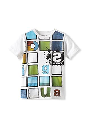 Desigual Boy's Choco Chrispies T-Shirt (White)