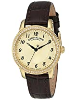 Stuhrling Original Analog Gold Dial Women's Watch - 651.02