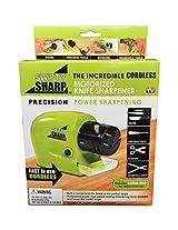 Swifty Sharp - Cordless, Motorized Knife Blade Sharpener
