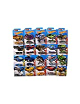 HOT WHEELS CARS COLLECTION OF 20 FUTURISTIC MODELS