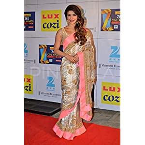 Priyanka Chopra White Saree