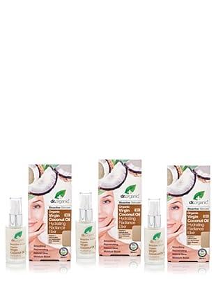 Dr.Organic Set 3 Elixir Facial Coco 30 Ml