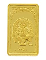 TBZ - The Original 25 gm, 24k(999) Yellow Gold Ganesh Precious Coin