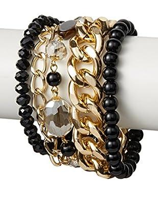 Saachi Gold-Tone Multi-Strand Bracelet